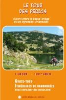 Carte du Tour des Pérics  LES EDITIONS DU REFUGE